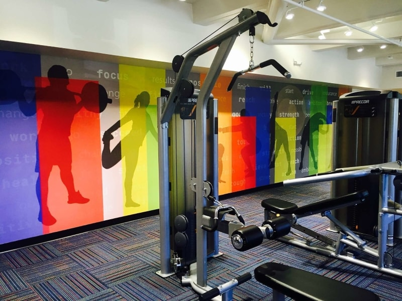 On-Site Fitness Center at Food Supplier and Distribution Company