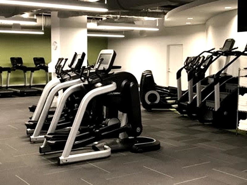 On-Site Fitness Center at Global Brokerage Firm