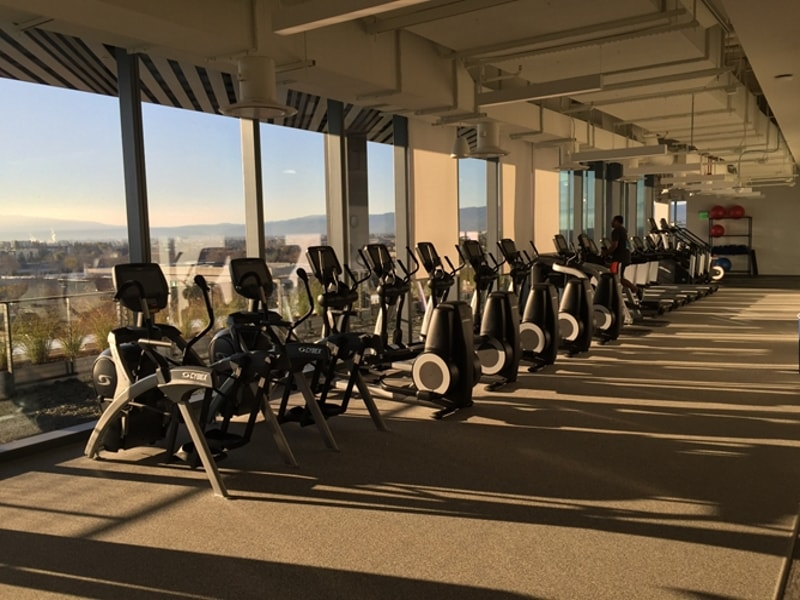 On-Site Fitness Center at Technology Firm